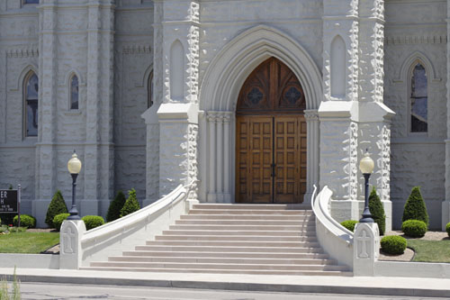 Church Entryway in Architectural Fiberglass