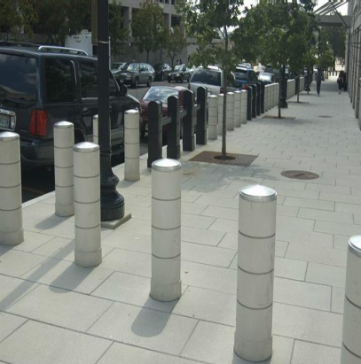 GFRP Security Bollards by Stromberg
