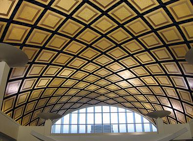 Barrel Vaulting in Architectural Fiberglass