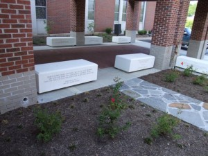 GFRP Memorial Bench