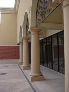 Stromberg GFRP Column Bases