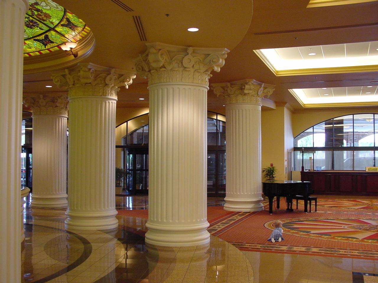 Structural Fiberglass Columns : Architectural fiberglass columns