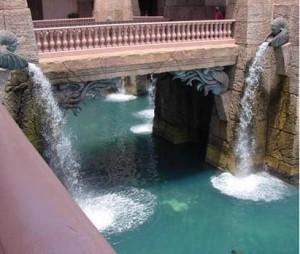 Fountain Pool in Architectural Fiberglass
