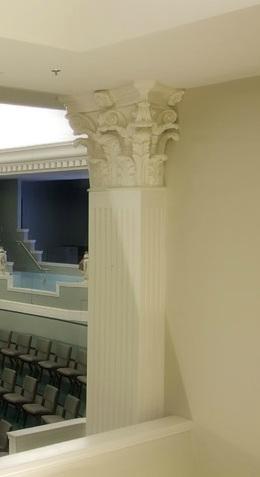 Architectural fiberglass interior columns for Fiberglass interior columns