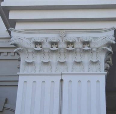 Architectural Fiberglass Entablature
